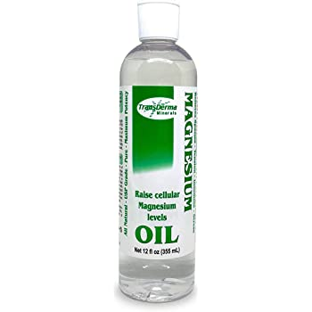 Transdermal Magnesium Oil - Pure Liquid Magnesium Chloride Hexahydrate, Made with Ancient Minerals Magnesium, Fast Absorbing Through The Skin