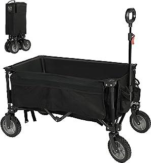 Sponsored Ad – Timber Ridge Folding Camping Wagon Collapsible Beach Garden Trolley Cart Heavy Duty Utility Garden Yard Fol...