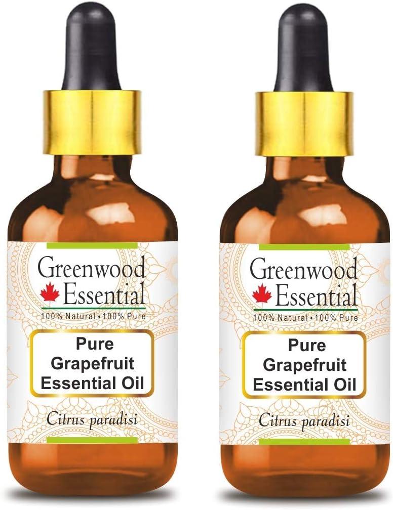 Greenwood Essential Pure Grapefruit Essential Oil (Citrus paradi