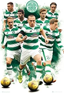 Celtic FC Players 2015 2016 Soccer Football Sports Poster 24x36