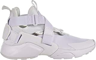 Nike Huarache City Big Kids' Shoes White/Metallic Silver aj6662-100