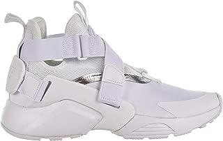 Nike Huarache City Big Kids' Shoes White/Metallic Silver aj6662-100