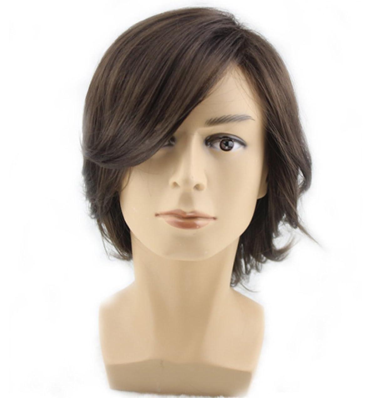 特定の急流聴覚ウィッグパーティーファンシードレスハロウィン男性ジゴロ70iesポップスターダンサー高品質のヘアピース