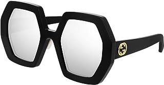Gucci GG0772S Black/Silver 55/26/145 women Sunglasses