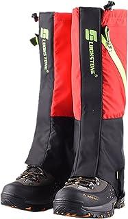 UNISTRENGH ضد آب دو تکه گاو پا بلند برای مردان و زنان پیاده روی کوهنوردی شکار صعود برف کفش کوهنوردی ساق پا