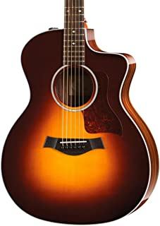 Taylor 214ce Deluxe - Sunburst with Rosewood Back Sides