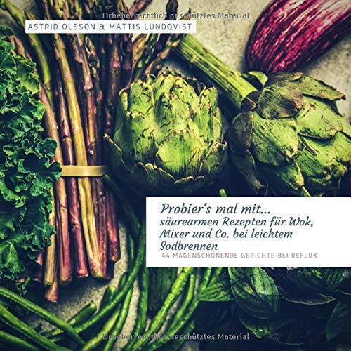 Probier's mal mit...säurearmen Rezepten für Wok, Mixer, Ofen und Co. bei leichtem Sodbrennen: 44 magenschonende Gerichte bei Reflux