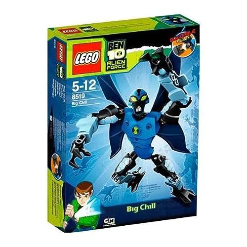 LEGO - 8519 - Jeu de Construction - Ben 10 Alien ForceTM - Glacial