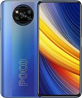 موبايل شاومي بوكو X3 برو بشريحتين اتصال - شاشة 6.67 بوصة، 128 جيجابايت، 6 جيجابايت رام، شبكة الجيل الرابع ال تي اي - اسود ...