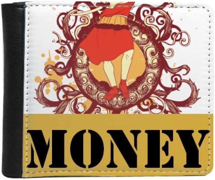 Japan Red Samurai Max 42% OFF Max 68% OFF Sword Illustration Bif Flip Wallet Money Purse