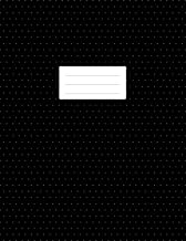 Isometric Dot Grid Notebook -  3D Graph Paper: 1/4 inch Distance Between Dotted Lines   100 Pages   8.5x11 Soft Cover Book   For Technical Drawing, Perspective Art Design, Bullet Journaling   Black