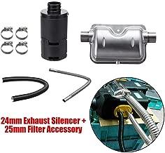 24mm exhaust tubing