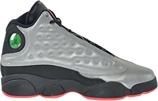 online retailer 9cff5 20aa2 Jordan Air 13 Retro Premium 3M BG Big Kids Shoes Reflect Silver Infrared- Black