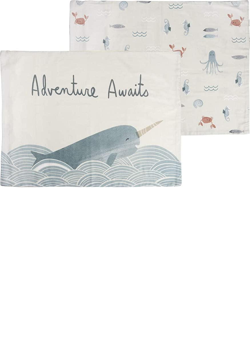 Primitives by Kathy Whale Adventure Awaits Pillowcase Set