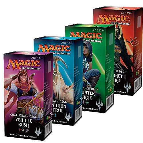Magic The Gathering Challenger Decks Ingles - 1 Deck al azar
