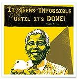 Juniqe® Motivation Politische Figuren Poster 50x50cm -