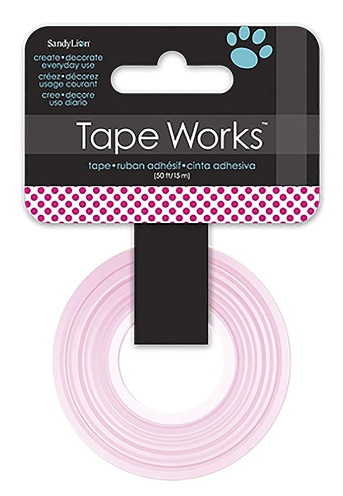 Tape Works Tape, Magenta Polka Dot
