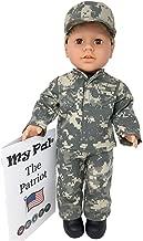 My Pal 18 inch boy Doll -The Patriot - Blonde Hair, Brown Eyes, Light Skin