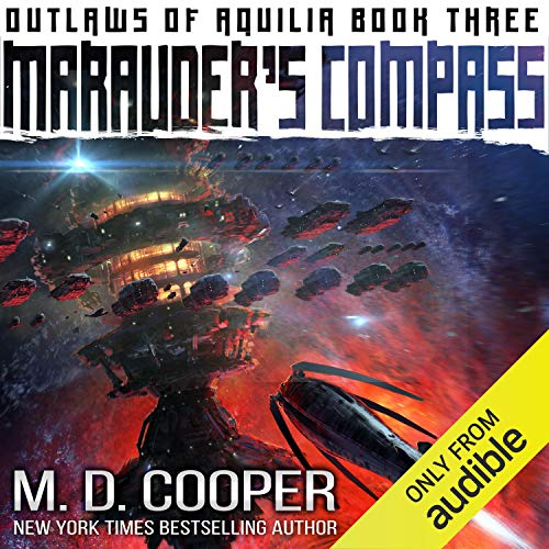Marauder's Compass Audiobook By M. D. Cooper cover art