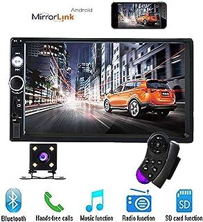 17,8 cm Double Din Voiture Stéréo Audio Bluetooth Touch MP5 Lecteur USB FM Téléphone..