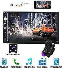 BoomBoost 6.6  Touch Bluetooth 2 DIN Autoradio Stereo MP5 Spieler AUX//Fernbedienung USB Head Unit R/ückfahrkamera