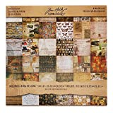 Idea-Ology Paper Stash Carta Decorativa 8'X8' 36/Sheets-Collage