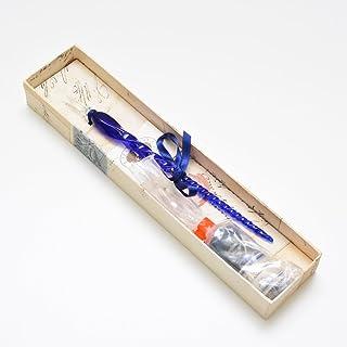 ルビナート ガラスペン インクセット NOV/E+INK ブルー#10