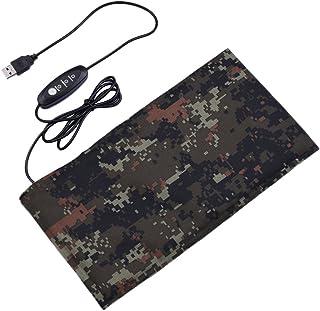 爬虫類加熱パッド USBヒートシンク 炭素繊維 ペット用ヒーター 爬虫類・小動物用 マット加熱パッド (M:15*28CM)