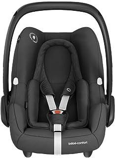 Bébé Confort - Silla de coche para recién nacidos sillita para coche Essential Black