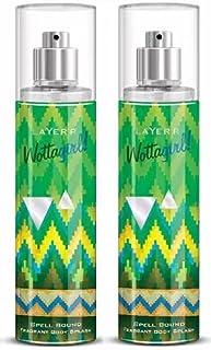 LAYER'R Wottagirl Spell Bound Body Spray 2Pcs Body Spray - For Women (270 ml, Pack of 2)