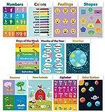 11 pädagogische Poster für Vorschule (Vorschul-Poster) Klassenzimmer Poster...