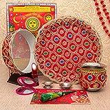 TIED RIBBONS Karwachauth Puja Thali Geschenkset mit