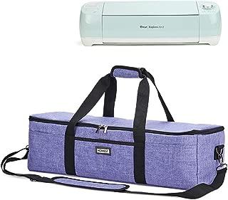 HOMEST Lightweight Carrying Case Compatible with Cricut Explore Air 2, Cricut Maker, Cricut Explore Air, Purple (Patent Pending)