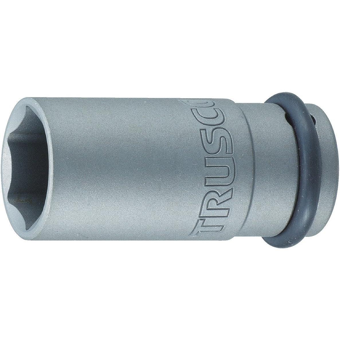 買い物に行く嫌い肥沃なTRUSCO(トラスコ) インパクト用ロングソケット(差込角12.7)対辺28mm T4-28AL