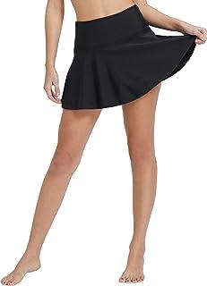 Baleaf Women's Swimsuit High Waisted Flounce Skirted Bikini Tankini Bottom Swim Skirt