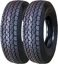 2 New Premium Trailer Tires ST 225/75D15 Deep Tread - 11022 …