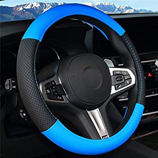 Ocamo Coprivolante Accessorio Decorativo per Volante Auto ABS con Rivestimento del Volante per Accessori per Lo Styling Ford Focus 2019 Sei Piccoli Speciali in Fibra di Carbonio per Fascia Alta ST