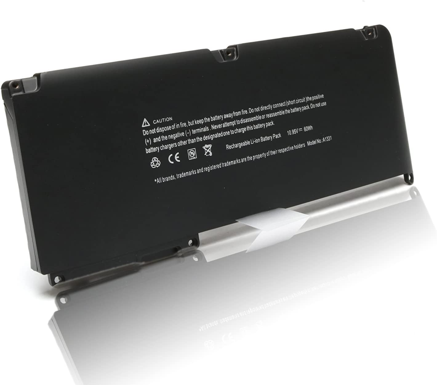 New 60Wh 11.1V Laptop Battery for Apple a1342 a1331 MacBook 13.3'' Unibody (Late 2009 Mid 2010) mc516ll/a mc373ll/a mc118ll/a mc372ll/a mc375ll/a mc226ll/a-DJW
