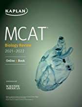MCAT Biology Review 2021-2022: Online + Book (Kaplan Test Prep) (English Edition)