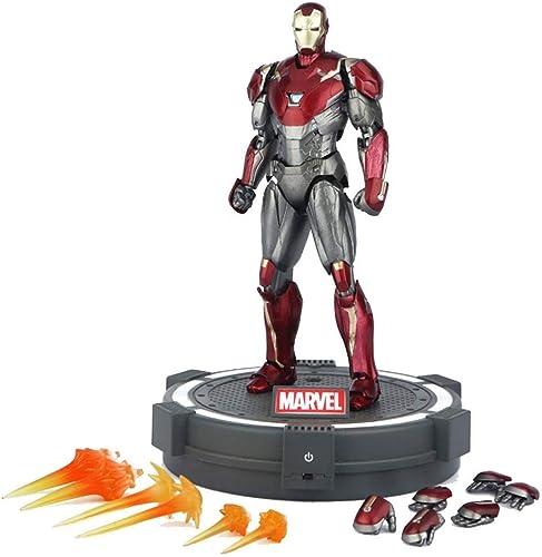 compra limitada Lfy Figura De Acción De Iron Man Man Man De Avengers Actividad Conjunta De Cuerpo Completo - 6 Pulgadas Color  Juguete + Base  barato y de alta calidad