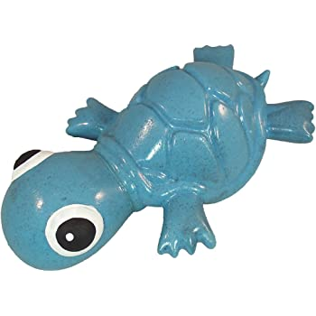 Cycle Dog 3-Play Turtle Dog Toy, Ecolast Post Consumer Recycled Material, Blue