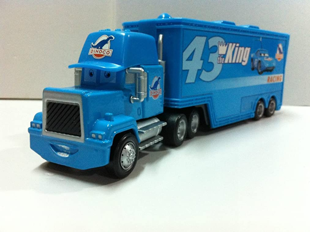 Pixar Cars Toys Diecast No.43 King Truck Metal 1:55 Scale