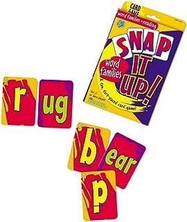 ラーニング リソーシズ(Learning Resources) 英単語 カードゲーム Snap It Up Word Families & Reading Phonics Card Game LER3043