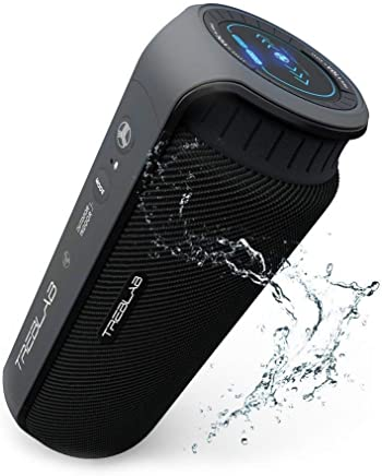TREBLAB HD55 - Deluxe Bluetooth Speaker - Impeccable 360°...
