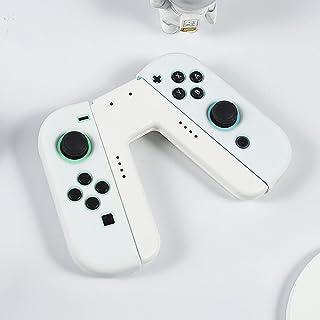 Nintendo Switch対応 V字型任天堂スイッチ専用Joy-Conグリップ 充電グリップスイッチ充電グリップJoy-Conスイッチハンドル充電快適なグリップサポートスタンドスイッチJoyコンフォートハンドルコントロール充電器 Joy-C...