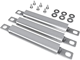 """Unicook Grill Crossover Tubes 7 1/4"""" L, Carryover Tube 3 Pack, Stainless Steel Grill Replacement Parts, Fits Most Grills"""