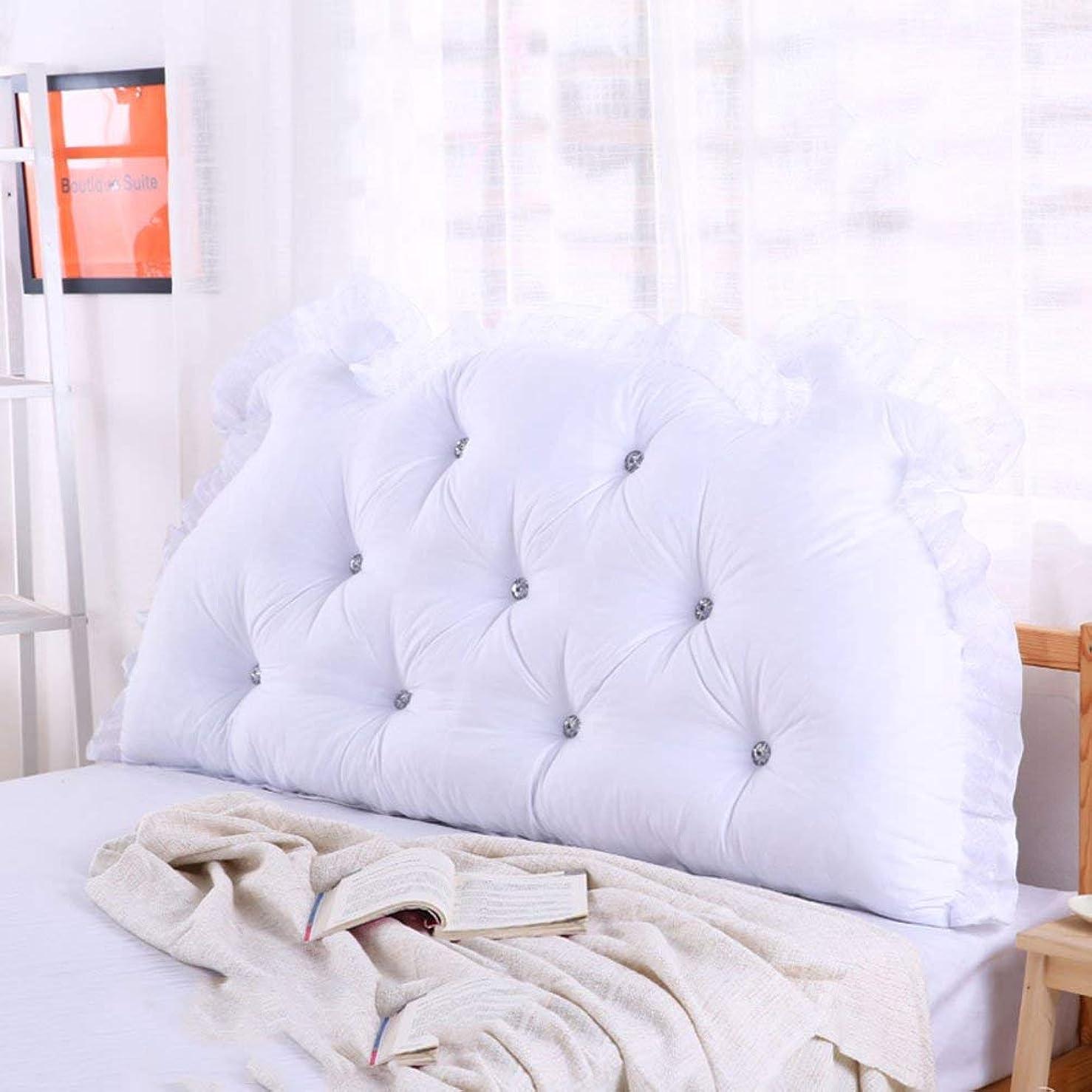 タイヤ電卓閉塞Nanwu ベッドサイドの読書枕背部クッション、ソファーマットクッション100%綿背もたれ位置決めサポート枕 (Color : F, サイズ : 90x70x15cm(35x28x6inch))