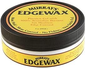 Murrays Edgewax Gel 4 Ounce Jar (120ml) (6 Pack)