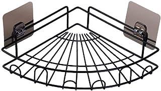 Étagère d'angle Douche Salle de bain Douche Caddy Organisateur mural fer étagère avec adhésif Non Drilling Support de rang...