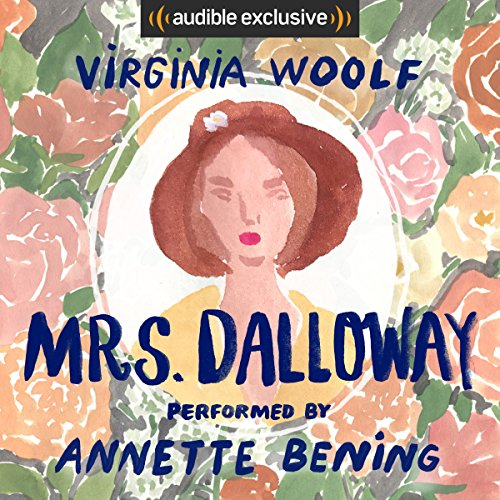 Mrs. Dalloway audiobook cover art